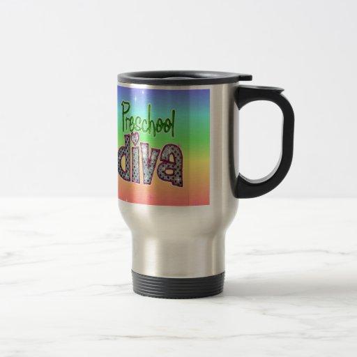Preschool Diva School Grade Kids Girl Sparkle Coffee Mug