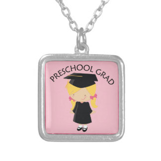 Preschool Girls Graduation Gift Necklace