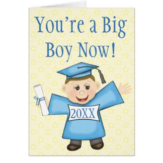 Preschool / Kindergarten Boy Graduation Card