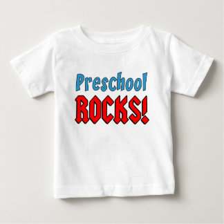 Preschool Rocks Baby T-Shirt