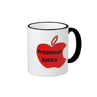 Preschool Rocks Ringer Mug