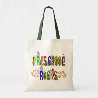 Preschool Rocks - Stars Tote Bag