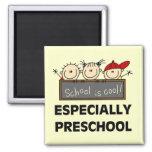Preschool School is Cool Tshirts and Gifts Fridge Magnet