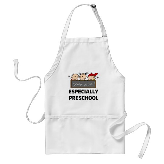 Preschool School is Cool Tshirts and Gifts Standard Apron