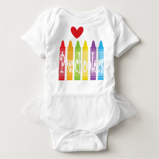 preschool teacher2 baby bodysuit