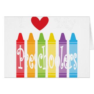 preschool teacher2 card