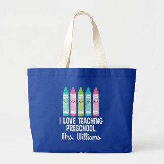 Preschool Teacher Back to School Tote Bag