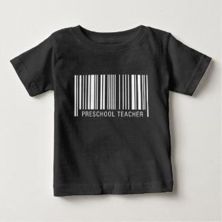 Preschool Teacher Barcode Baby T-Shirt