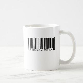 Preschool Teacher Barcode Coffee Mug