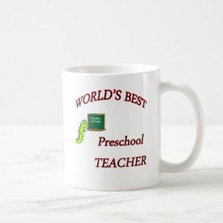 Preschool Teacher Basic White Mug