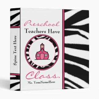 Preschool Teacher Binder - Teachers Have Class
