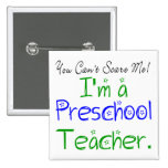 Preschool Teacher Button