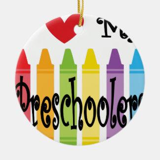 preschool teacher ceramic ornament