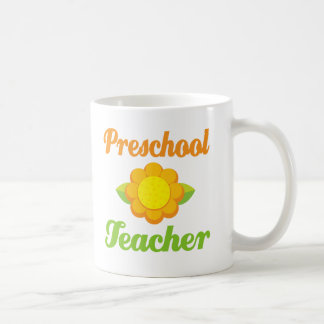 Preschool Teacher Classic White Coffee Mug