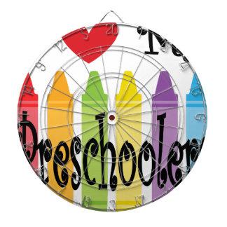 preschool teacher dartboard