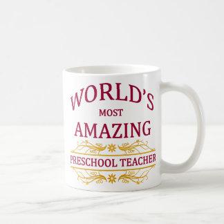 Preschool Teacher Coffee Mugs