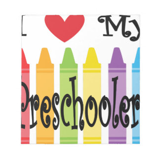 preschool teacher notepad