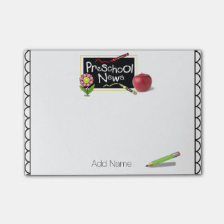 Preschool Teacher Post-it® Notes