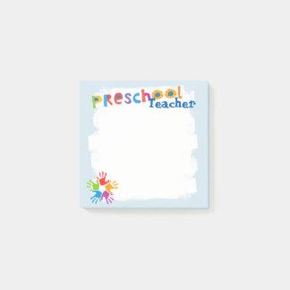 Preschool Teacher Post-it Notes