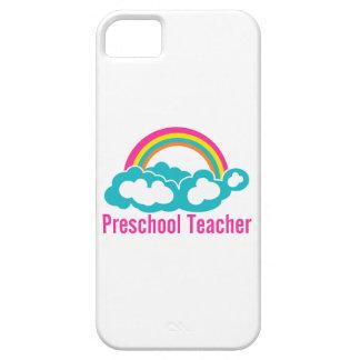 Preschool Teacher Rainbow Cloud iPhone 5 Case