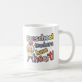 Preschool Teachers Have Heart Classic White Coffee Mug