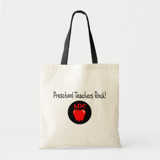 Preschool Teachers Rock Tote Bag