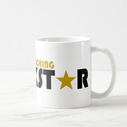 Preschool Teaching Rockstar Coffee Mug