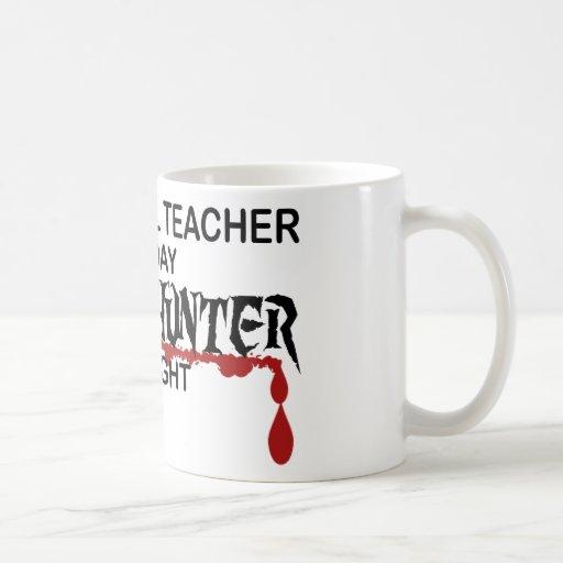 Preschool Zombie Hunter Mugs