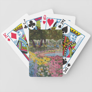 Prescott Park Garden Poppies Portsmouth NH Bicycle Playing Cards