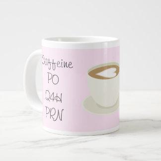 Prescription...Coffee Large Coffee Mug