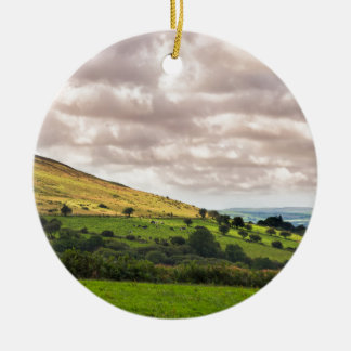 Preseli Hills Ceramic Ornament
