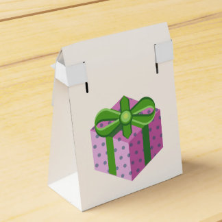 Present Dotted card box Favor Box