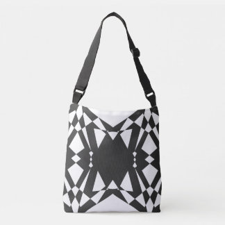 Present geometry crossbody bag