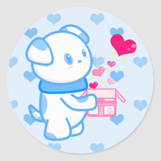 Present of Love Sticker