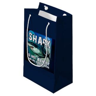 Present stock market Shark Small Gift Bag