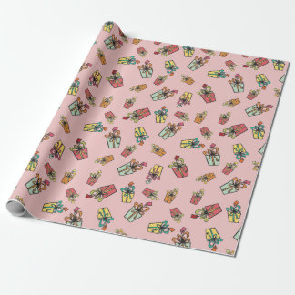 Presents Wrap Wrapping Paper