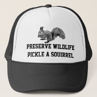 preserve wildlife trucker hat