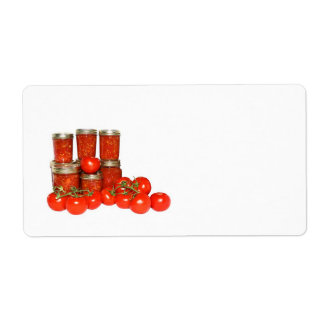 Preserves Personalized Shipping Label