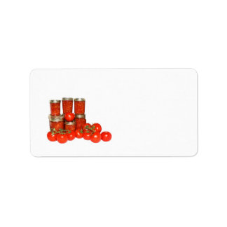 Preserves Personalized Address Labels