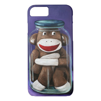Preserving Childhood with Sock Monkey iPhone 7 Case