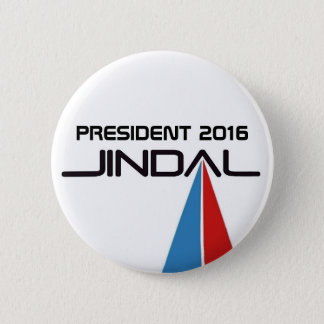 President 2016 Bobby Jindal 2 Inch Round Button