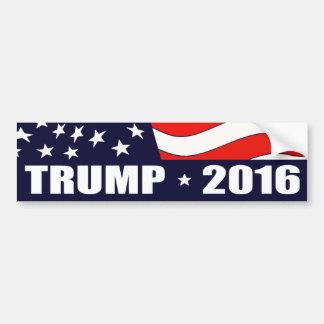Président 2016 de Donald Trump Autocollant De Voiture