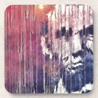President Abraham Lincoln Abstract Coasters