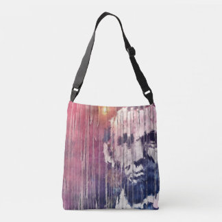 President Abraham Lincoln Abstract Crossbody Bag
