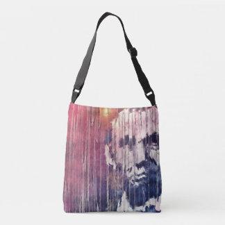 President Abraham Lincoln Abstract Crossbody Bag