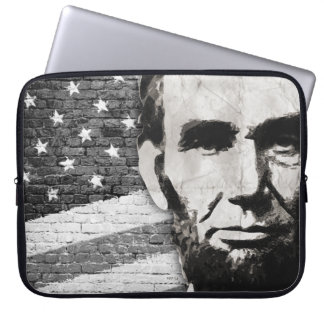 President Abraham Lincoln Laptop Sleeve