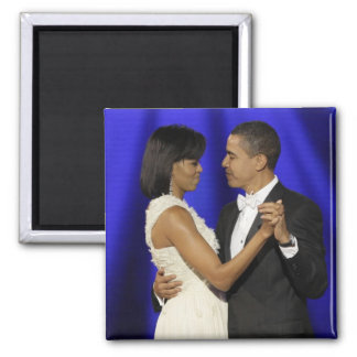 President and First Lady Obama Inauguration Ball Magnet