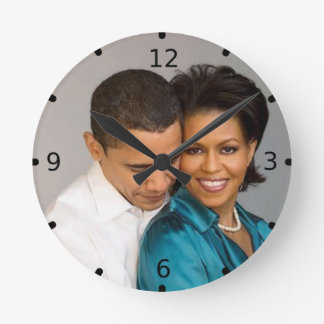 PRESIDENT AND MRS. OBAMA ROUND CLOCK