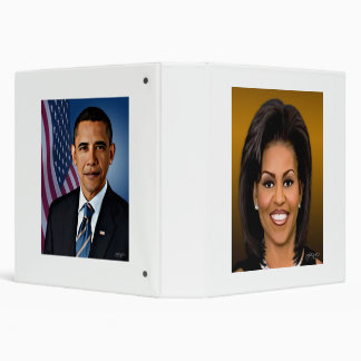 President and Wife Notebook Binders