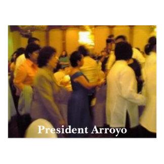 President Arroyo Postcard